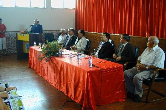 Cerimónia oficial de comemoração do IX Aniversário de elevação da Freguesia a Vila. 12 Junho 2006