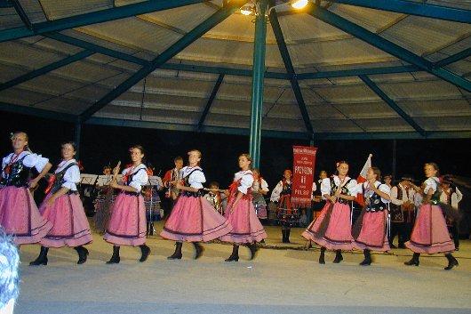 Festa do IX Aniversário da Vila de Aguada de Cima. Festival Intrenacional de Folclore no Parque do Sabugueiro - Folk Group