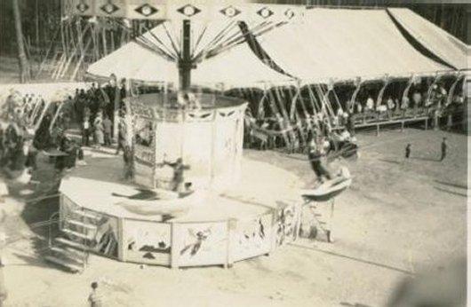 Parque de diversões da Festa das Almas Santas da Areosa