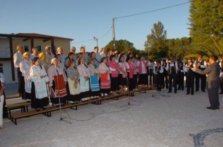 Cerimónia de inauguração da réplica do Pelourinho  - X Aniverário da elevacção a Vila