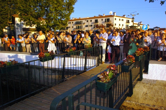 Cerimónia de Inauguração da réplica do Pelourinho